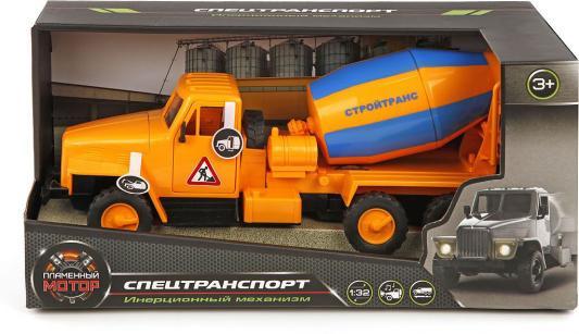 Бетономешалка Пламенный мотор СтройТранс оранжевый 870047 машина пламенный мотор стройтранс 870041