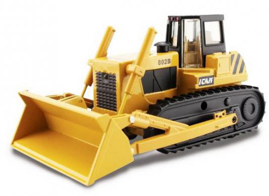 Трактор-погрузчик Пламенный мотор гусеничный желтый 13 см