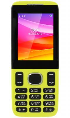 """Мобильный телефон Vertex D503 жёлтый 2.4"""""""
