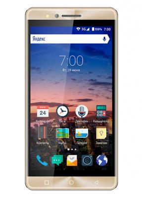 Смартфон Vertex Impress Open золотистый 5 8 Гб Wi-Fi GPS 3G VOPNGLD смартфон vertex impress groove gold