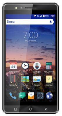 """Смартфон Vertex Impress Open графитовый 5"""" 8 Гб Wi-Fi GPS 3G VOPNGRP"""