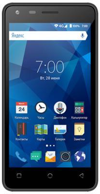 "Смартфон Vertex — черный 4"" 8 Гб LTE Wi-Fi GPS 3G"
