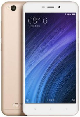 "Смартфон Xiaomi Redmi 4A золотистый 5"" 16 Гб LTE Wi-Fi GPS 3G REDMI4AGD16GB"