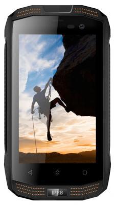"Смартфон Vertex Stark Impress Strong черный оранжевый 4"" 8 Гб LTE Wi-Fi GPS 3G SSTRBLK"