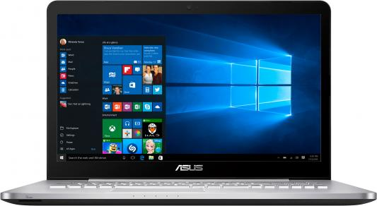 Ноутбук ASUS VivoBook Pro N752VX-GC218T 17.3 1920x1080 Intel Core i5-6300HQ 90NB0AY1-M02530 ноутбук asus n752vx