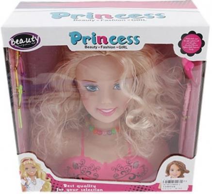 Набор стилиста Shantou Gepai Принцесса с аксессуарами, блондинка 8804-2