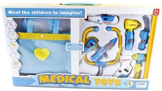 Игровой набор Shantou Gepai Доктор с сумочкой, голубой