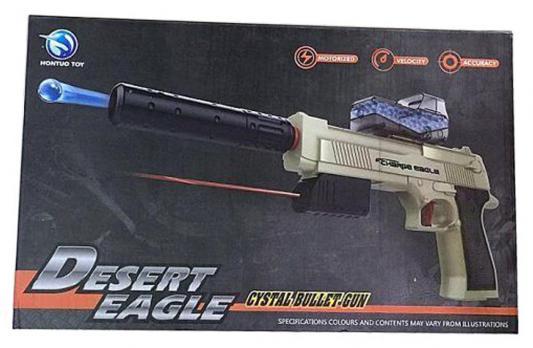 Пистолет Shantou Gepai Desert Eagle серый прицел, гелевые пули, USB зарядка
