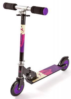 Самокат X-Match Rush розово-фиолетовый