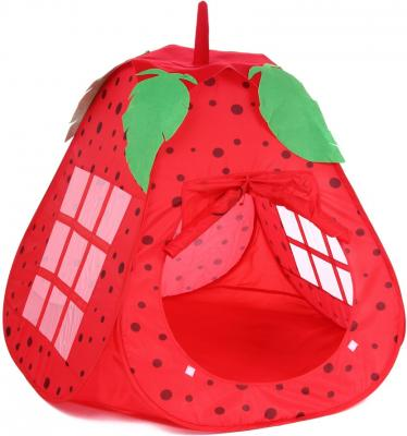 Игровая палатка Shantou Gepai Клубничка, в чехле 889-164B игровая палатка shantou gepai пчелкин домик сумка 889 127b