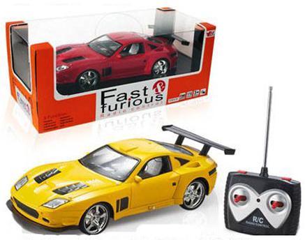Машинка на радиоуправлении Shantou Gepai Fast - Спортивная пластик от 3 лет ассортимент в ассортименте 626070