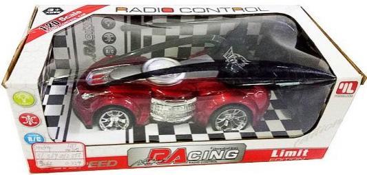 Машинка на радиоуправлении Shantou Gepai Гонка красный от 3 лет пластик 635365 каталка на палочке shantou gepai карусель петушки от 3 лет разноцветный пластик с ручкой