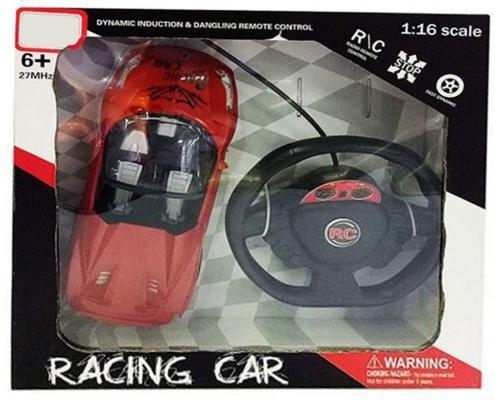 Машинка на радиоуправлении Shantou Gepai Racing Car красный от 6 лет пластик 4 канала 635370 машинка на радиоуправлении shantou gepai от 6 лет ассортимент пластик 1 16 4 канала 635367