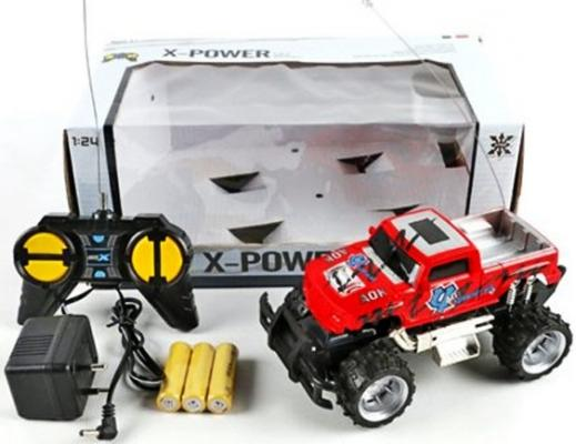 Внедорожник на радиоуправлении Shantou Gepai X-Power пластик от 6 лет красный 2012-4E abnormal psychology 4e