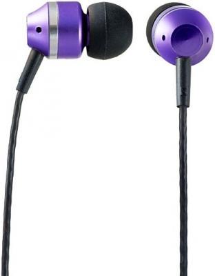 Наушники Perfeo Tangle фиолетовый PF-TNG-BLK/VLT наушники perfeo rubber черный pf rub blk