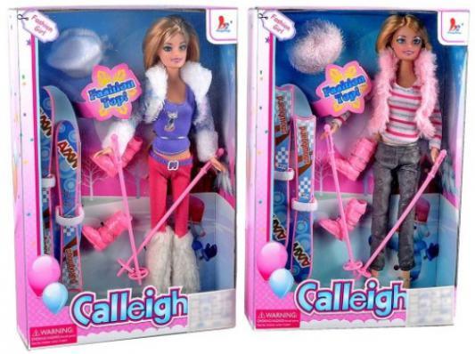 Кукла Shantou Gepai 29 см Лыжница, в ас-те