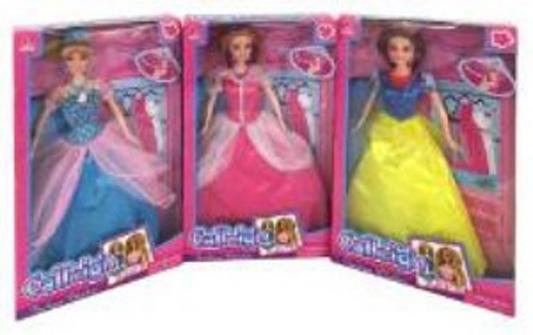 Кукла Shantou Gepai Calleigh 29см Принцесса в ас-те 66277