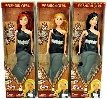 Купить Кукла Shantou Gepai Берта - Вечерний выход 29 см в ассортименте Y8314308, пластик, Классические куклы и пупсы
