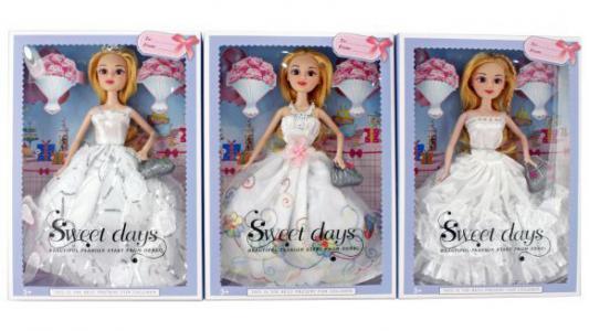 Кукла Shantou Gepai Невеста 29 см, в ассорт., кор.