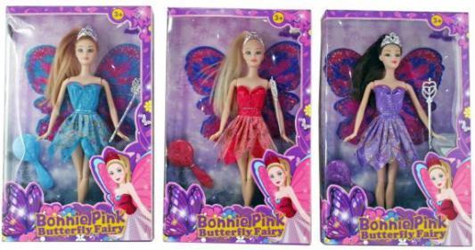 Кукла Shantou Gepai Bonnie pink Фея 29 см,с аксесс.,  в ассорт., кор.