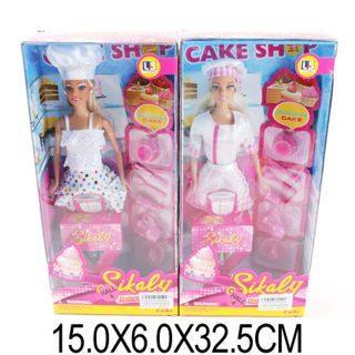 Кукла Shantou Gepai Повар с аксесс., в ассорт., кор.