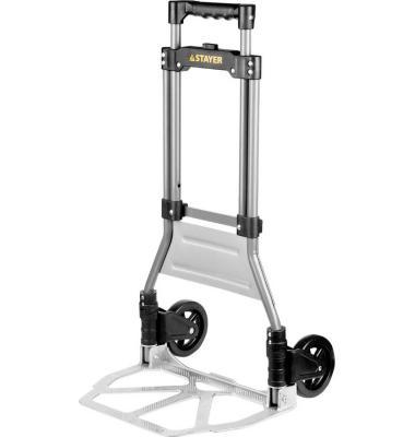 Тележка Stayer Expert хозяйственная раскладная максимальная нагрузка 90кг 38755-90