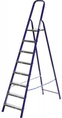 Лестница-стремянка Сибин стальная 8 ступеней 38803-08