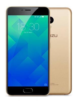 Смартфон Meizu M5 золотистый 5.2 16 Гб LTE Wi-Fi GPS 3G MZU-M611H-16-GOLD смартфон meizu u20 32 gb rose gold white