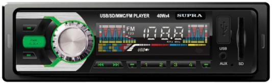 Автомагнитола Supra SFD-30U USB MP3 FM 1DIN 4x40Вт черный