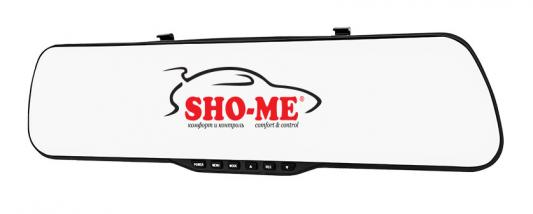 "Видеорегистратор Sho-Me SFHD 400 4.3"" 1920x1080 3Mp 120° G-сенсор microSD microSDHC"