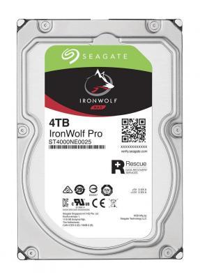 Жесткий диск 3.5 4Tb 7200rpm Seagate IronWolf Pro SATAIII ST4000NE0025 жесткий диск 12tb seagate ironwolf pro st12000ne0007