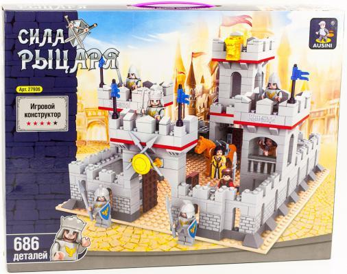 Конструктор Ausini Рыцари Средневековый замок 686 элементов 27906 средневековый замок
