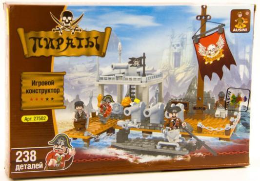Конструктор Ausini Пираты 238 элементов 27502