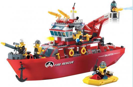 Конструктор BRICK Спасательный корабль 359 элементов  909