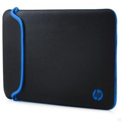 """Чехол для ноутбука 14"""" HP V5C27AA неопрен синий черный"""