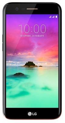 Смартфон LG K10 (2017) 16 Гб золотистый (LGM250.ACISGK) смартфон lg q6a 16 гб платина lgm700 acispl