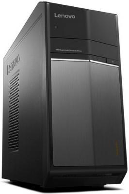 Системный блок Lenovo IdeaCentre 710-25ISH MT i5-6400 2.7GHz 16Gb 1Tb 8Gb SSD GTX960-2Gb DVD-RW Win10 черный 90FB003QRS