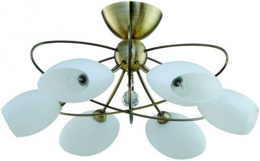 Потолочная люстра IDLamp Perlite 818/6PF-Oldbronze idlamp потолочная люстра idlamp perlite 818 8pf whitechrome