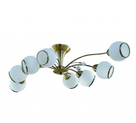 Потолочная люстра IDLamp Fina 830/8PF-Oldbronze idlamp 830 830 8pf whitechrome
