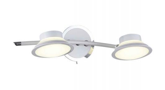 Светодиодный спот IDLamp Simonta 104/2A-LEDWhite светодиодный спот idlamp simonta 104 3pf ledwhite