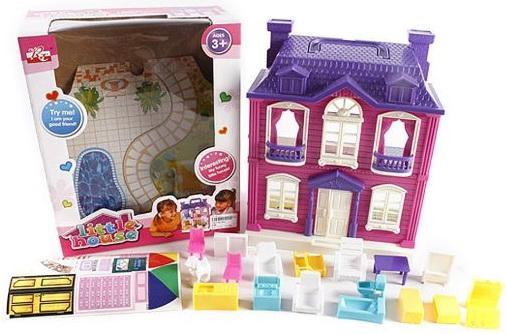 Дом для кукол Shantou Gepai Дом с мебелью  897 дом для кукол shantou gepai cute house 13631a