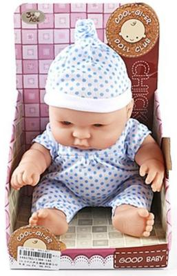 Кукла-младенец Shantou Gepai 25 См, озвуч., в костюмчике, кор.