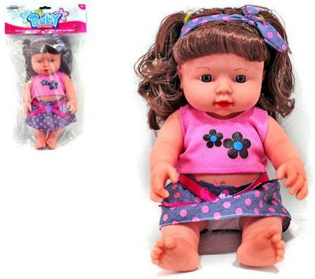 Кукла Shantou Gepai 30 см в костюме, звук, пакет, в ассорт. 61519