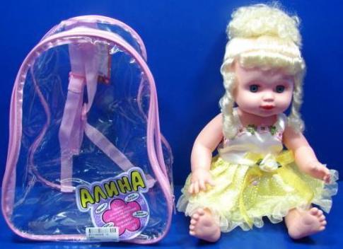 Кукла Shantou Gepai Алина озвуч. 24 см.
