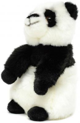 Мягкая игрушка MAXITOYS Панда искусственный мех белый 24 см