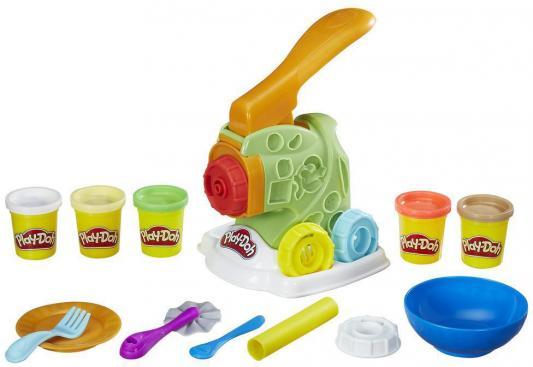 Набор для творчества Hasbro Play-Doh Машинка для лапши B9013 игровой набор hasbro play doh город магазинчик домашних питомцев