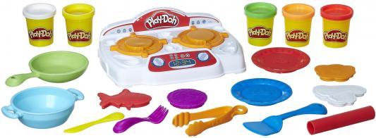 Набор для творчества Hasbro Play-Doh Кухонная плита B9014 набор для творчества hasbro hasbro набор play doh сумасшедшие прически