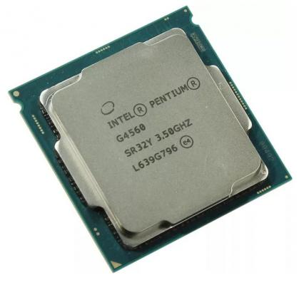 Процессор Intel Pentium G4560 3.5GHz 3Mb Socket 1151 BOX ого pc office mini intel pentium g4560 3 50ghz 4gb 500gb