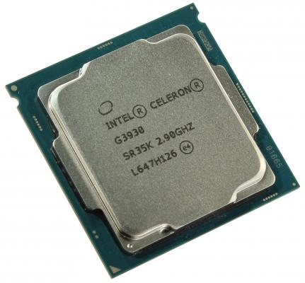 Процессор Intel Celeron G3930 2.9GHz 2Mb Socket 1151 BOX процессор intel celeron g3900 2 8ghz 2mb lga1151 box