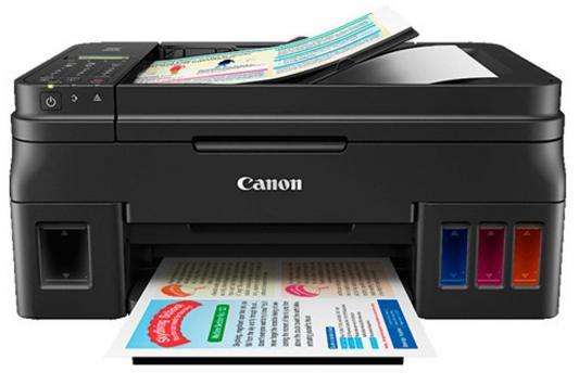 МФУ Canon Pixma G4400 цветное A4 8/5ppm 4800x1200 Ethernet Wi-Fi USB черный 1515C009 мфу canon i sensys colour mf635cx цветное a4 18ppm 600x600dpi ethernet usb wi fi 1475c038